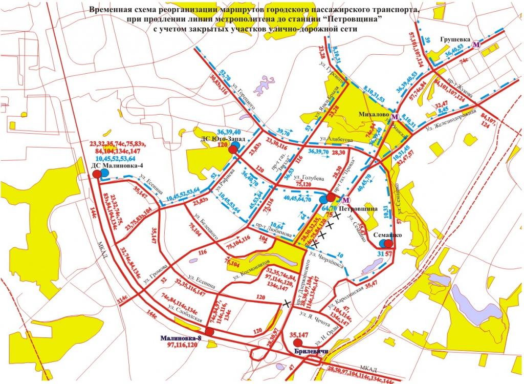 Схема движения грузового транспорта в рязани